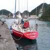 海の難所、潮の岬を越えて、那智勝浦へ