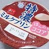 雪印メグミルク「特濃ミルクプリン ほんのりココア」は優しいココア味