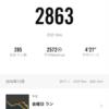 毎日10kmランニング記録(11月)