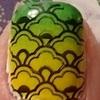 Nail Art 44 - Banana