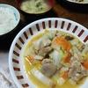 白菜と鶏肉の炒め物