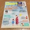 【雑誌掲載のお知らせ】「週3回家事のススメ」雑誌CHANTOに掲載していただきました。