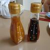バニラアイスにかけるお醤油・お味噌