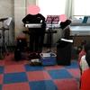 音楽発表会の合同練習