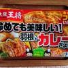 大阪王将の羽根つきカレーぎょうざとご飯をホットサンドメーカーで焼いたらできたなにか