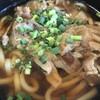 【上信越道上り横川SAたびーとキッチン】肉うどん:上州はうどんです