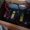 トラキャンの修理 サブバッテリー