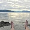 北海道の無料温泉めぐり 貧乏特典旅行 day3-3 屈斜路湖でDIY!手作り温泉で至上の体験を。