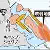水面下90m杭打ち船、国内になし どうする?新基地の大浦湾地盤改良 - 沖縄タイムス(2019年2月9日)