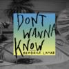 Maroon 5 – Don't Wanna Know ft. Kendrick Lamarのサビ・コーラスの歌詞和訳で覚える英語
