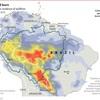 アマゾンの森林の火災と帝国主義の問題