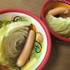 美味しいキャベツを丸ごとスープで朝から元気に