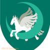天馬、ペガサスの紋章。なぜかハロウィーンに発表したくて。