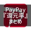 『PayPay』の還元率まとめ2021年最新版