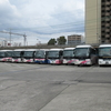 西日本JRバス大阪北営業所を見るpart1