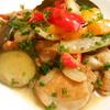 簡単!!鶏もも肉と彩り野菜の白ワイン煮の作り方