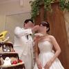 【結婚式当日レポ21】披露宴*ビッグしゃもじでファーストバイト
