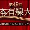 日本有線大賞2016 出演者ノミネート一覧!三代目は辞退!?視聴者リクエストで乃木坂46