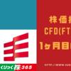【2018年10月更新】岡三証券の株価指数CFD (FTSE100) 1ヶ月目の結果を公開します!