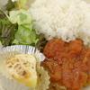 ハンバーグ トマトソース