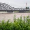 長良川大増水