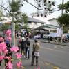 大阪狭山市/市会候補「ふかえ容子」の出発式! あなたの大切な1票をふかえ容子に!