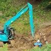 田圃脇の土木工事が済んだようです🔨