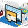 خطوات تصميم موقع الكتروني تصميم والتسويق اشهار الالكترروني لموقع والربح منه.