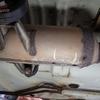 排気ガスが漏れ アルミテープを巻いて Exhaust gas is leaking