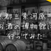 京都で世界中のお酒を格安体感。お酒の美術館 河原町三条店にいってきた。