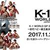 11月23日(木・祝)K-1甲子園開催|abemaTVで無料視聴も