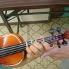 ヴァイオリン再び(4歳7カ月)