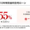【住宅ローン】三菱東京UFJ銀行がネット銀行並みの低金利!(10年固定0.55%)