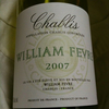 WILLIAM FEVRE Chablis 2007