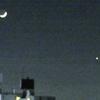 月と金星の競演…を眺めて楽しむナイトラン!