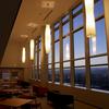 岐阜市役所展望スペース「つかさデッキ」から眺める夜景。