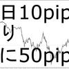 FXで月間200pips取れれば専業レベルだけど、1日10pips取ればいいわけじゃない