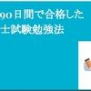 【宅建】独学90日間で合格した宅建士試験勉強法