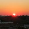 アスンシオンの夕陽