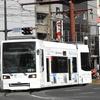 鹿児島市電1000形 1018号車(南国殖産ラッピング車両)
