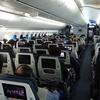 人が少なくて快適な後方席。NH886(クアラルンプール→羽田)エコノミークラス搭乗記