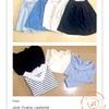 【2017春コーデ公開】減らして厳選した服の中から15コーデ考えてみた(シンプル・ブルー系・プチプラ)