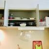 【キッチン】シンク上の備え付けの棚の中。わが家の実例と収納のポイント
