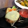 【食事】 ウェスタン牧場@水戸 美明豚のイタリアンハンバーグ