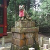 夏の終わりの三峯オオカミ