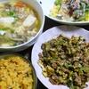 【今日の食卓】マラ・パット・カイ・ムー(苦瓜、豚肉、鶏肉の炒め物)~タイ版ゴーヤーチャンプルー風瓜