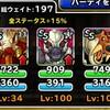 level.1612【魔獣系15%UP】第193回闘技場ランキングバトル3日目