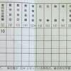 Sちゃん(高3)の成績表 (◎_◎;) (N's English Schoolで助手を務めてくださっています)