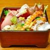 豊洲の「寿司大」でちらし寿司7。