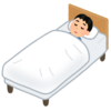 ベルソムラとトリアゾラムとクエチアピン400mgを飲み始めた頃の睡眠記録